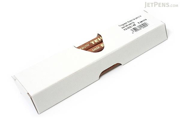 Koh-I-Noor Triograph Graphite Pencil - 4B - Pack of 6 - KOH-I-NOOR FA1830.4B