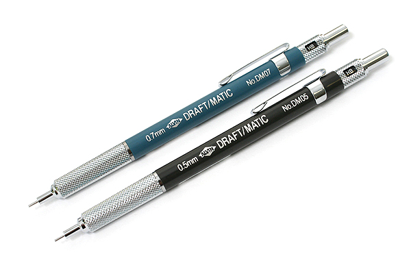 Alvin Draft-Matic Drafting Pencil - 2 Pencil Set - 0.5 mm + 0.7 mm - ALVIN DM257C