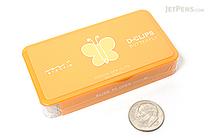 Midori D-Clips Paper Clips - Garden Series - Butterfly - Box of 30 - MIDORI 43216-006