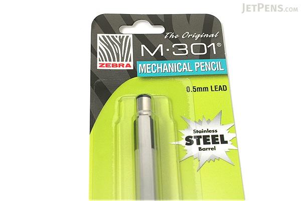 Zebra M-301 Stainless Steel Mechanical Pencil - 0.5 mm - ZEBRA 54011