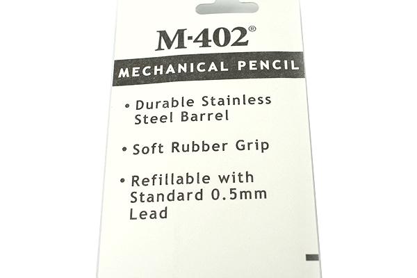 Zebra M-402 Stainless Steel Mechanical Pencil - 0.5 mm - ZEBRA 59211