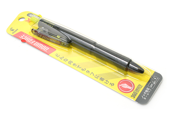 Pilot Down Force Ballpoint Pen - 0.7 mm - Black Body - Black Ink - PILOT BDW-40F-B