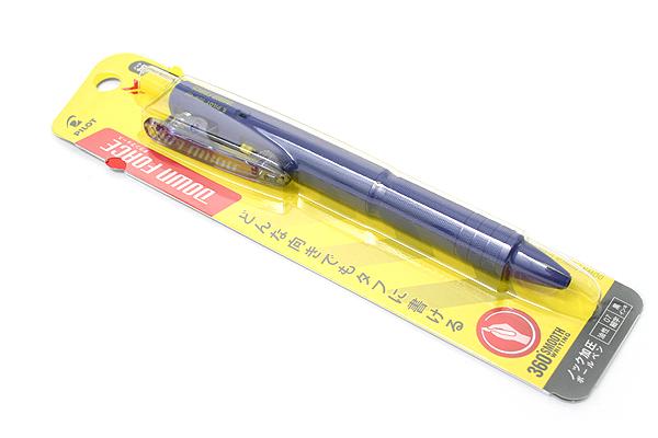 Pilot Down Force Ballpoint Pen - 0.7 mm - Blue Body - Black Ink - PILOT BDW-40F-L