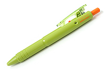 Pilot Down Force Ballpoint Pen - 0.7 mm - Moss Green Body - Black Ink - PILOT BDW-40F-MG