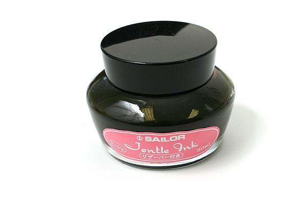 Sailor Fountain Pen Jentle Ink - 50 ml - Peach Pink - SAILOR 13-1000-231