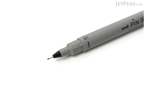 Uni Pin Pen - 01 Oil-based Ink - 0.49 mm - Black Ink - UNI PIN01A.24
