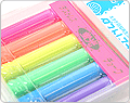 Rikagaku Dustless Chalk - 6 Color Set