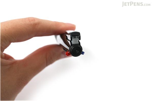Zebra Surari 3C 3 Color Emulsion Ink Multi Pen - 0.7 mm - Black Body - ZEBRA B3A11-BK