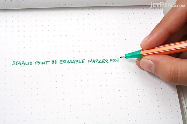 Stabilo Point 88 Colorkilla Erasable Fineliner Marker Pen - 0.4 mm - 10 Color Set - Wallet - STABILO 8810-00-10