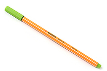 Stabilo Point 88 Fineliner Marker Pen - 0.4 mm - Apple Green - STABILO SW88-33