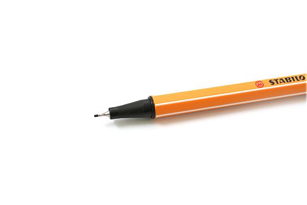 Stabilo Point 88 Fineliner Marker Pen - 0.4 mm - Brown - STABILO 88-45