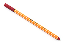 Stabilo Point 88 Fineliner Marker Pen - 0.4 mm - Crimson Red - STABILO SW88-50