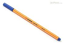 Stabilo Point 88 Fineliner Marker Pen - 0.4 mm - Dark Blue - STABILO 88-41