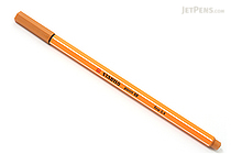 Stabilo Point 88 Fineliner Marker Pen - 0.4 mm - Dark Ochre Yellow - STABILO 88-89