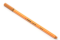 Stabilo Point 88 Fineliner Marker Pen - 0.4 mm - Dark Ochre Yellow - STABILO SW88-89