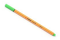 Stabilo Point 88 Fineliner Marker Pen - 0.4 mm - Leaf Green - STABILO SW88-43