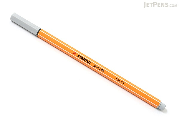 Stabilo Point 88 Fineliner Marker Pen - 0.4 mm - Light Gray - STABILO 88-94