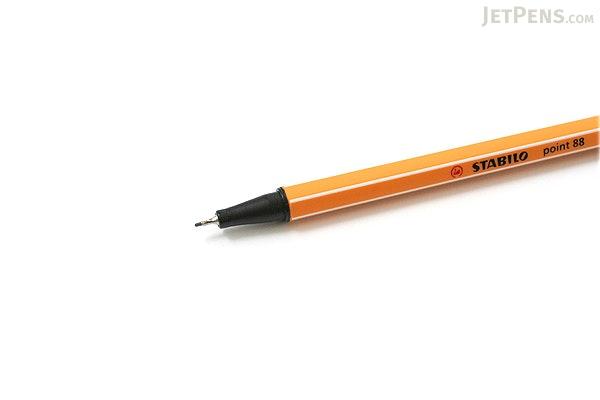 Stabilo Point 88 Fineliner Marker Pen - 0.4 mm - Light Gray - STABILO 88-94