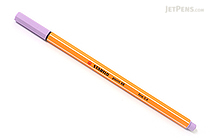 Stabilo Point 88 Fineliner Marker Pen - 0.4 mm - Light Lilac Purple - STABILO 88-59