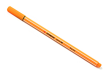 Stabilo Point 88 Fineliner Marker Pen - 0.4 mm - Orange - STABILO SW88-54