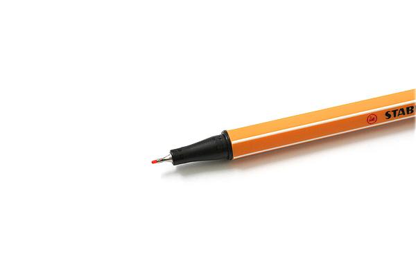 Stabilo Point 88 Fineliner Marker Pen - 0.4 mm - Orange - STABILO 88-54