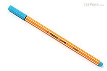 Stabilo Point 88 Fineliner Marker Pen - 0.4 mm - Turquoise Blue - STABILO 88-51