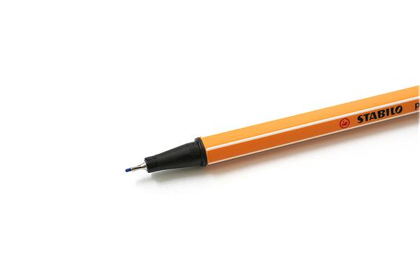Stabilo Point 88 Fineliner Marker Pen - 0.4 mm - Ultramarine Blue - STABILO 88-32