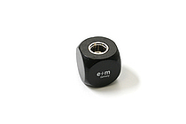 E+M Cube 5.5 mm Lead Sharpener - Black - E+M 2881-20