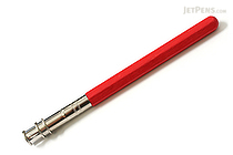 E+M Peanpole Wood Pencil Extender - Red - E+M FSC 1155-21