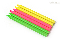 E+M Pencil Lead - 5.5 mm - Highlighter Colors - Pack of 6 - E+M 2843-ER6