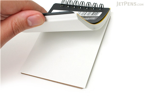 "Maruman Mnemosyne Roots Notepad - A7 (4.1"" X 2.9"") - Unruled - 70 Sheets - Bundle of 10 - MARUMAN N185 BUNDLE"