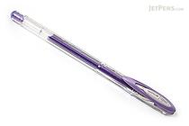 Uni-ball Signo Noble Metal Metallic UM-120NM Gel Pen - 0.8 mm - Violet Purple - UNI UM120NM.12
