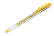 Uni-ball Signo Sparkling Glitter UM-120SP Gel Pen - 1.0 mm - Gold - UNI UM120SP.25