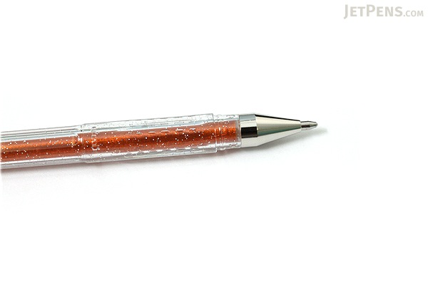 Uni-ball Signo Sparkling Glitter UM-120SP Gel Pen - 1.0 mm - Orange - UNI UM120SP.4
