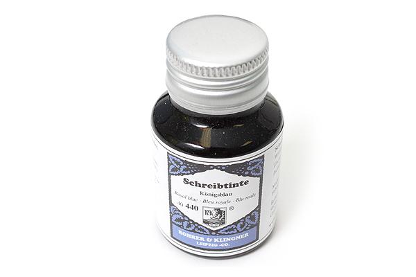 Rohrer & Klingner Writing Ink - 50 ml Bottle - Königsblau (Royal Blue) - ROHRER-KLINGNER 40 440 050