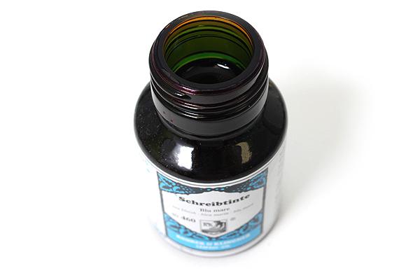 Rohrer & Klingner Writing Ink - 50 ml Bottle - Blu Mare (Sea Blue) - ROHRER-KLINGNER 40 460 050