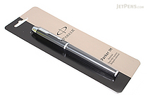 Parker IM Liquid Ink Rollerball Pen - Medium Point - Matte Black Body - Black Ink - PARKER 1750423