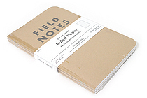 "Field Notes Memo Book - Original Cover - 3.5"" X 5.5"" - 48 Pages - 6.5 mm Rule - Pack of 3 - FIELD NOTES FN-02"