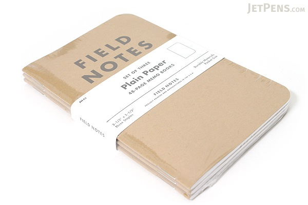 """Field Notes Memo Book - Original Cover - 3.5"""" X 5.5"""" - 48 Pages - Blank - Pack of 3 - FIELD NOTES FN-03"""