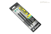 Pilot G2 Gel Pen Refill - 0.7 mm - Green - Pack of 2 - PILOT BG27RGRN-6PK