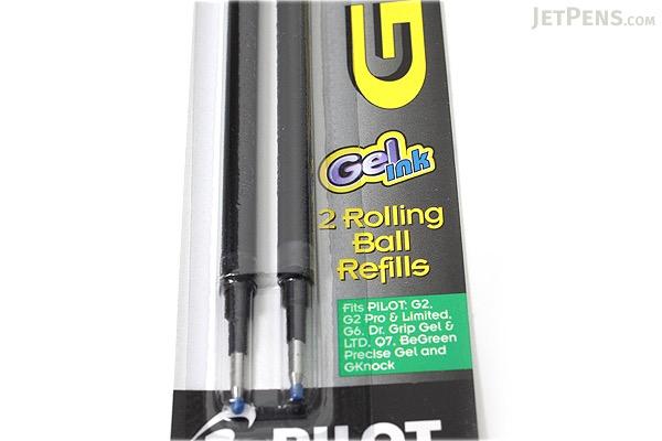 Pilot G2 Gel Pen Refill - 0.7 mm - Green - Pack of 2 - PILOT BG27RGRN-6PK