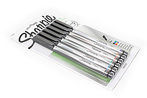 Sharpie Standard Marker Pen - Fine Point - 6 Color Set - SANFORD 1751690