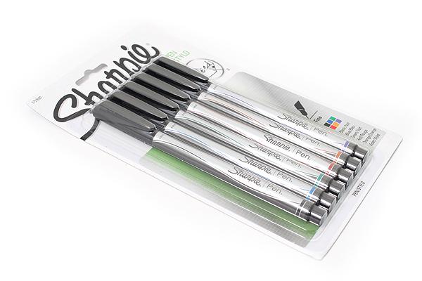Sharpie Standard Marker Pen - Fine Point - 6 Color Set - SANFORD 1751690