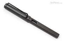 Lamy Safari Fountain Pen - Charcoal Black - Broad Nib - LAMY L17B