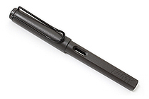 Lamy Safari Fountain Pen - Broad Nib - Charcoal Black Body - LAMY L17B