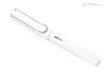 Lamy Safari Fountain Pen - White - Broad Nib - LAMY L19WEB