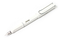 Lamy Safari Fountain Pen - White - Medium Nib - LAMY L19WEM