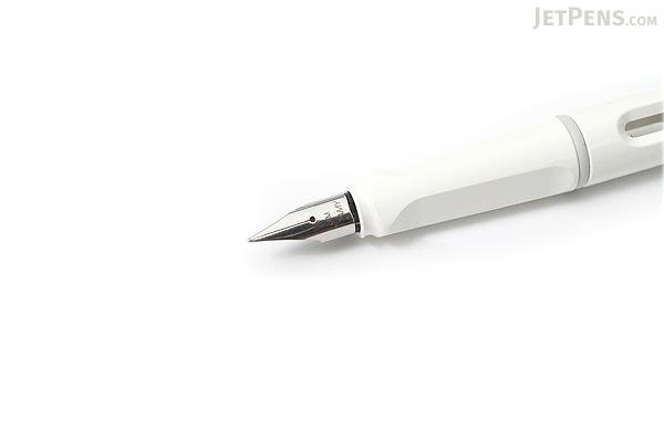 Lamy Safari Fountain Pen - White - Medium Nib - LAMY L19WEM