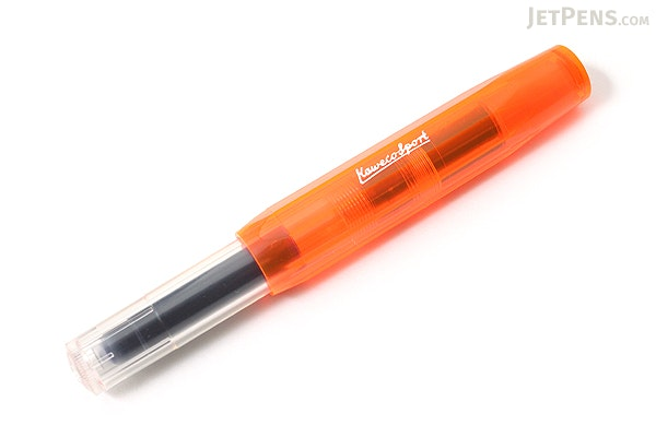 Kaweco Ice Sport Fountain Pen - Orange - Extra Fine Nib - KAWECO 10000421