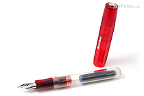 Kaweco Ice Sport Fountain Pen - Red - Extra Fine Nib - KAWECO 10000423